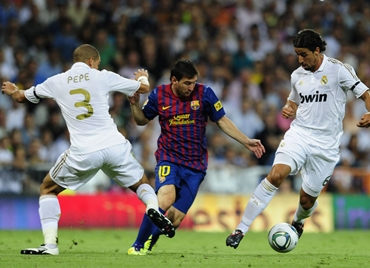 Messi, Real Madrid - Barcelona