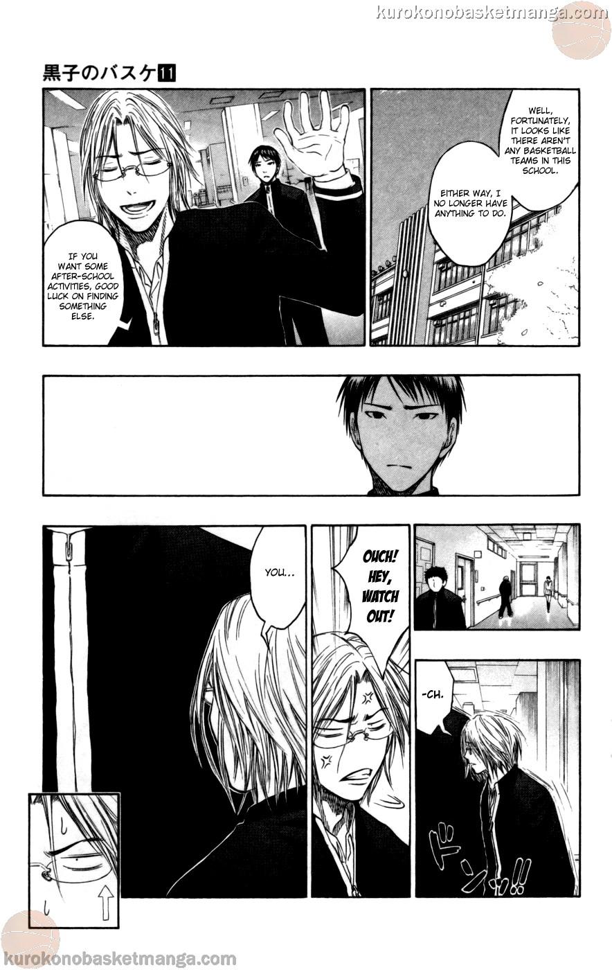 Kuroko no Basket Manga Chapter 95 - Image 11