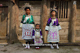 Chinese Dong Women in Traditional Dress Photo 1
