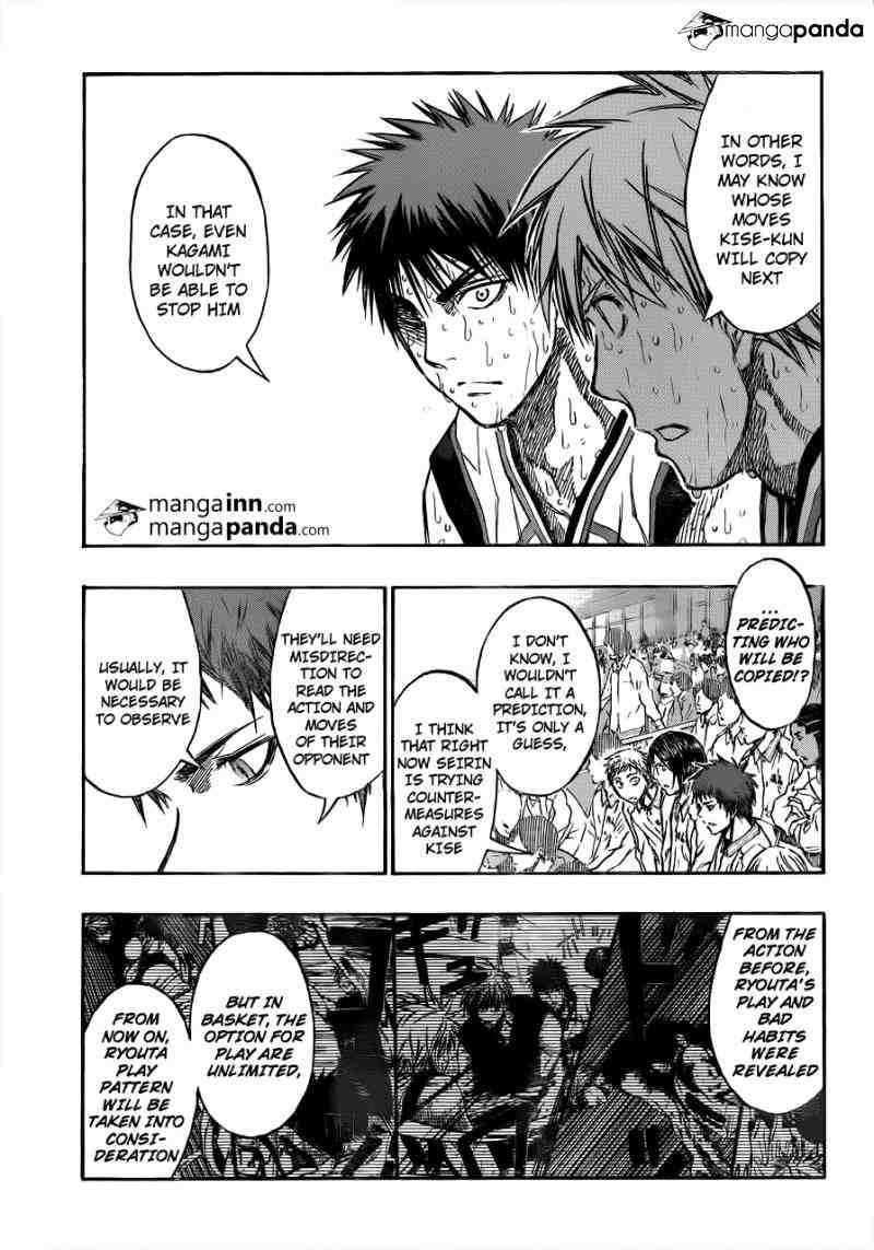 Kuroko no Basket Manga Chapter 199 - Image 03
