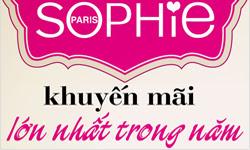 Sophie khuyến mại tháng 11/2014 Buffet