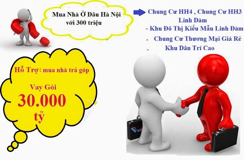 gói 30000 tỷ mua chung cư hh3 linh đàm