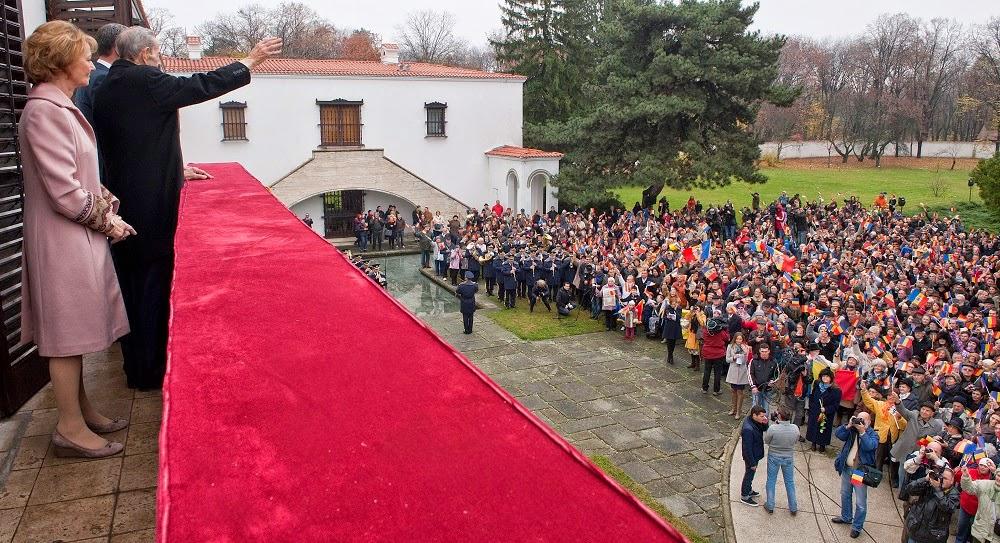 Regele Mihai a deschis Porțile Palatului Elisabeta