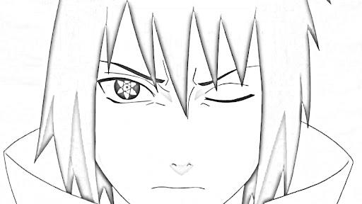 Naruto Modo Ermitaño Para Pintar Imagui