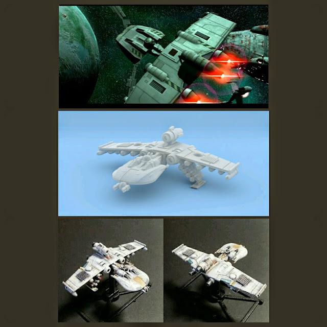 K-Wing de Mel Miniatures