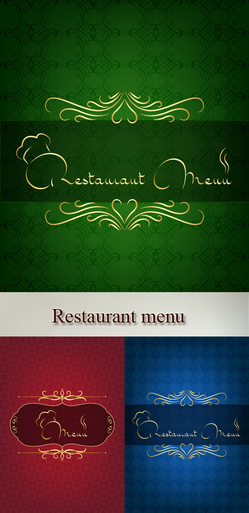 Stock: Restaurant menu 7