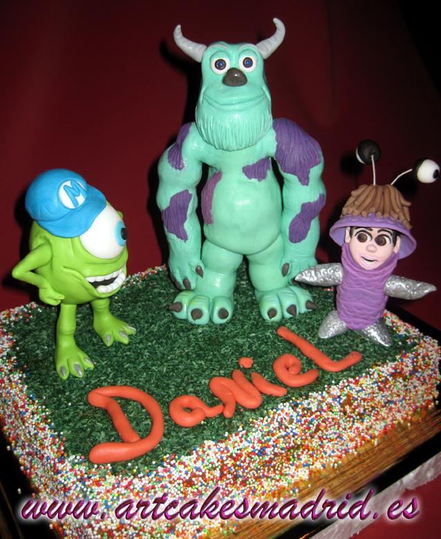 tartas decoradas, monstruos sa, cumpleaños