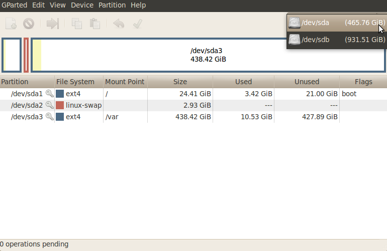 Create Windows 7 Startup USB from Ubuntu using GParted - TuxGarage