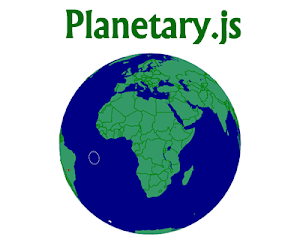 Planetary.js – JavaScript Library for Building Interactive Globes