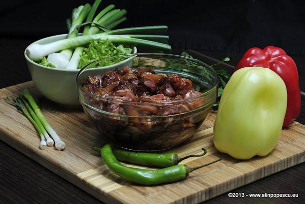 Ingrediente shaorma