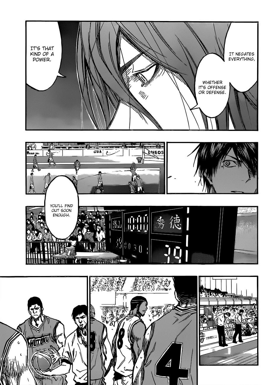 Kuroko no Basket Manga Chapter 178 - Image 11