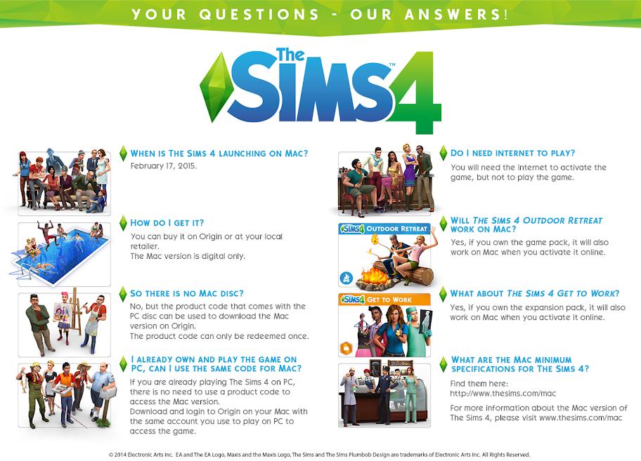 De Sims 4 Mac