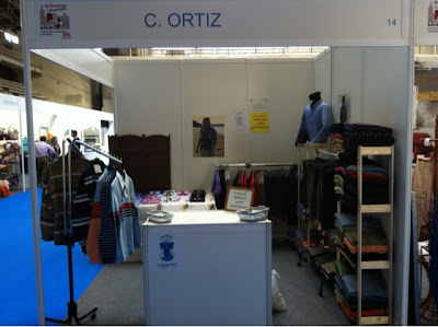stand C. Ortiz en Feria Outlet Leganés 2