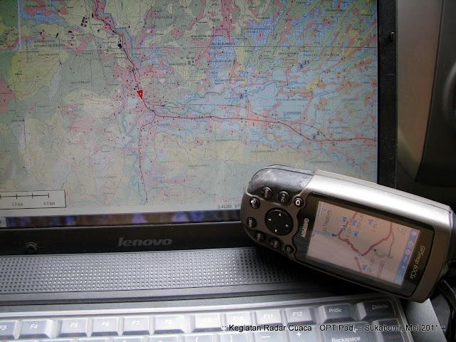 Penggunaan GPS