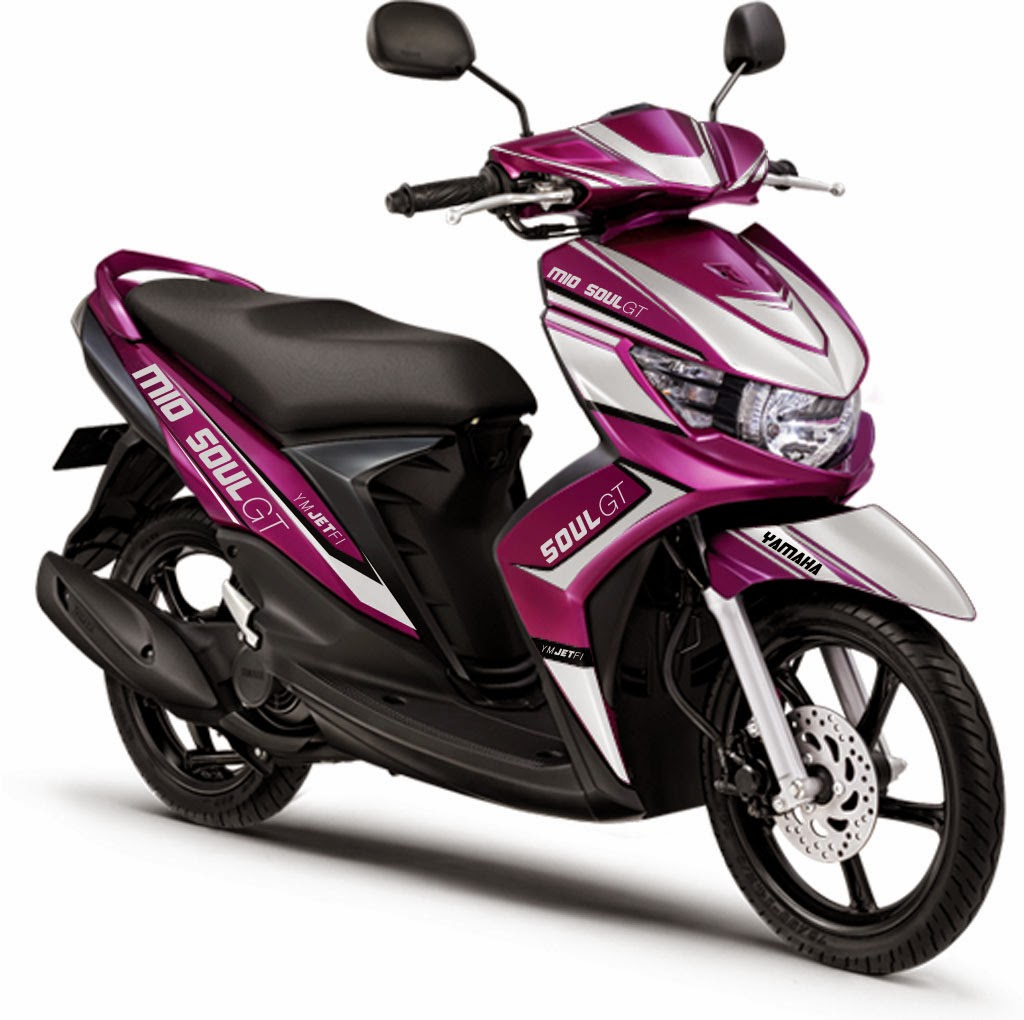 Modifikasi Motor Mio Sporty Warna Merah