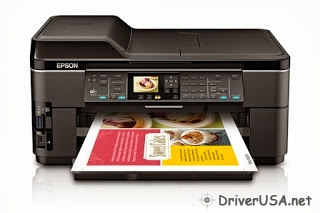 download Epson Workforce WF-7510 printer's driver