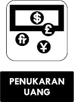Rambu  Tempat Penukaran Uang