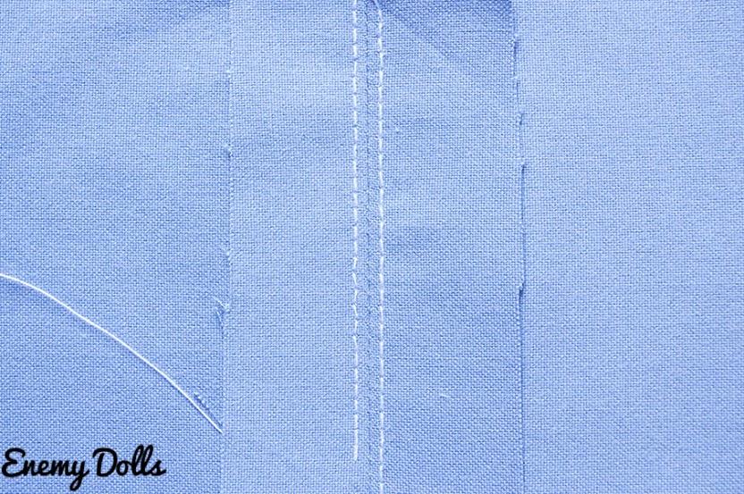 rematar coser costuras cargada