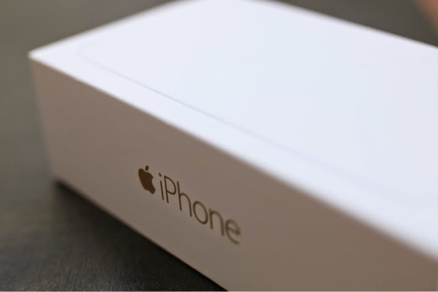 apple iphone 6 india gold box packaging