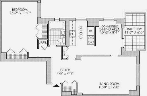Co-op City or coop city apartment or apartment rental units floor plans for different size apartments
