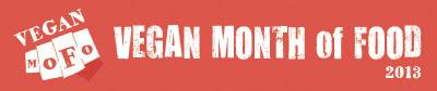 Vegan MoFo 2013 Banner