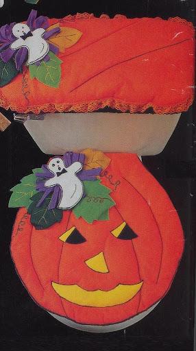 Juegos De Baño Halloween:Juegos De Bano En Fieltro