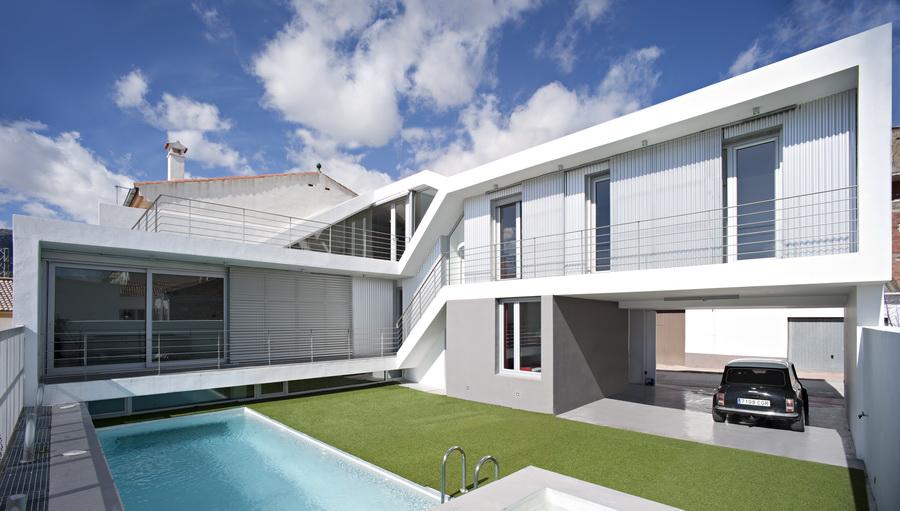 Arquitectura como puedas vivienda para mar a angeles y for Casas modernas granada