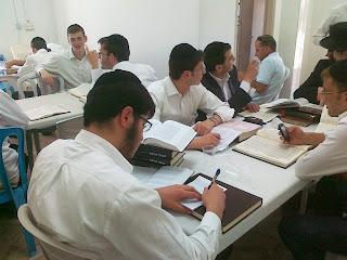 ישיבת קול תורה לומדת בשלום על ישראל ביריחות