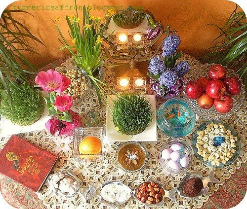 Turmeric & Saffron: Preparing For Nowruz 1390 - Persian ... Persian Haft Seen