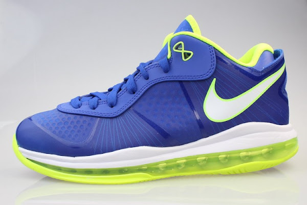 Nike LeBron 8 V2 Low 8220Sprite8221 Available at Eastbay Full Size Run
