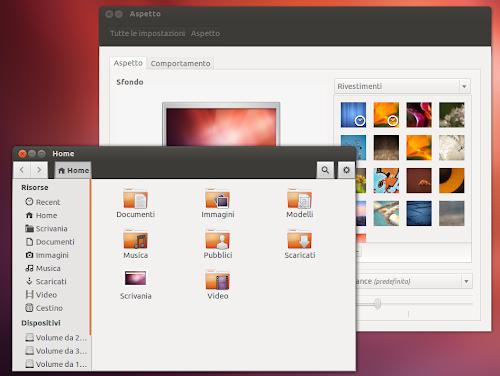 Ubuntu Light Themes 12.10 - Ambiance