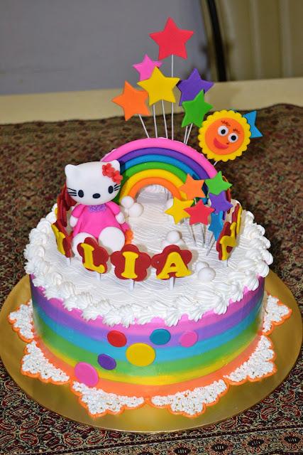 Mypu3 Cake House Hello Kitty Amp Rainbow Cake