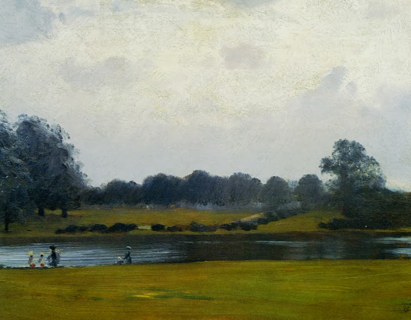 Giuseppe de Nittis - The Serpentine, Hyde Park, London