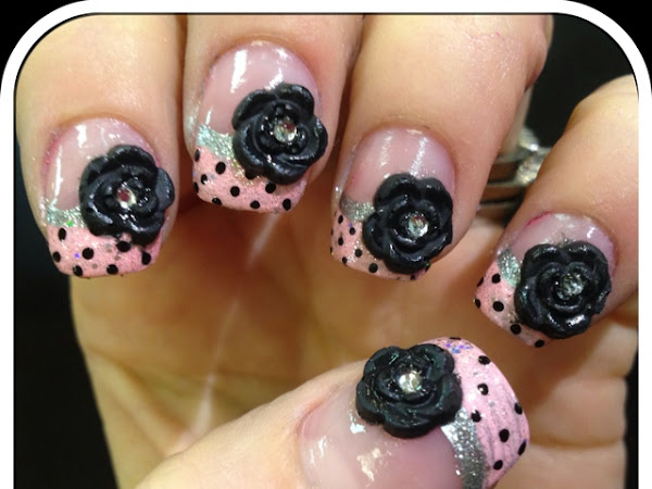 Day 90 - Black Roses and Polka Dots
