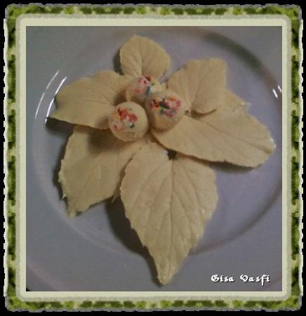 Folhas de chocolate