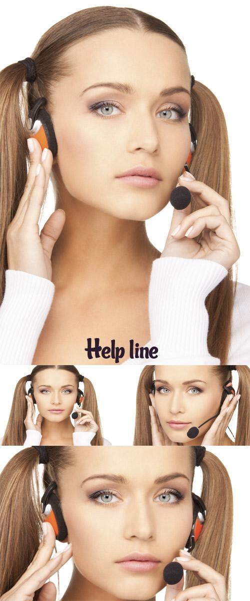 Stock Photo: Help line 5