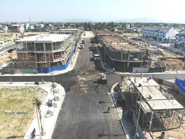 Tiến độ xây dựng dự án Uhome Quảng Ngãi