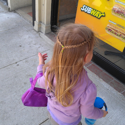 POD: Violet's Hair Cut