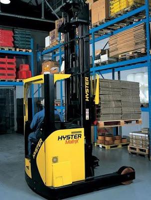 Xe nâng reach truck Hyster R1.6 R2.0