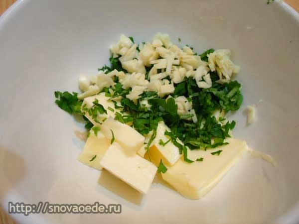 чечевица со сливочным маслом и зеленью