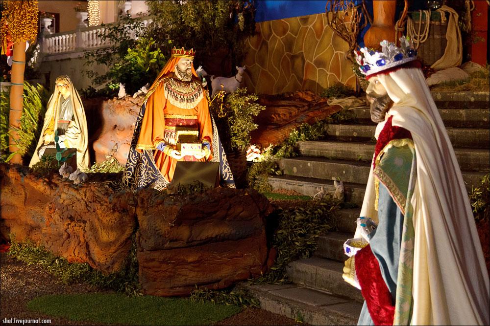 Ла-Оротава, Тенерифе, Канарские острова, Рождественский вертеп  | La Orotava, Tenerife, Canary Islands,  Christmas Nativity scene