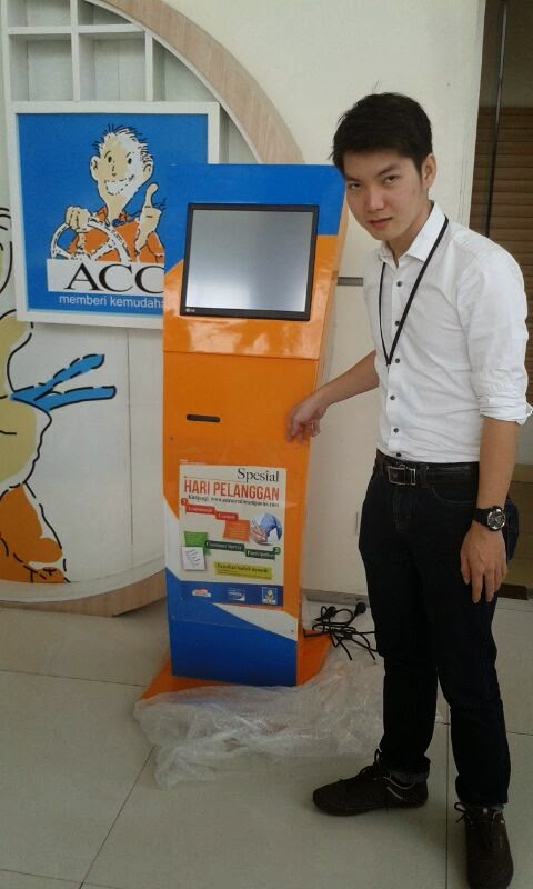 KiosK touch screen
