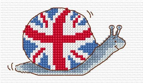 Union Jack Snail