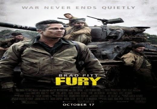 مشاهدة فيلم Fury مترجم اون لاين بجودة DVDSCR