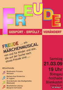 Plakat Freude 2009