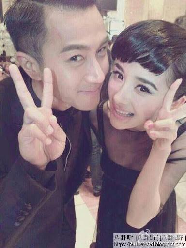 楊冪與劉愷威在微博上烙英文,遭到網友恥笑。(圖/翻自楊冪微博)