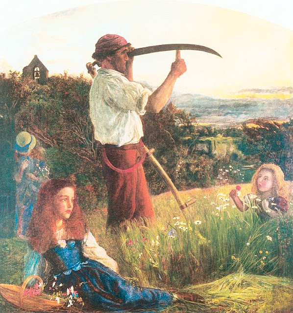 Arthur Hughes - The Mower