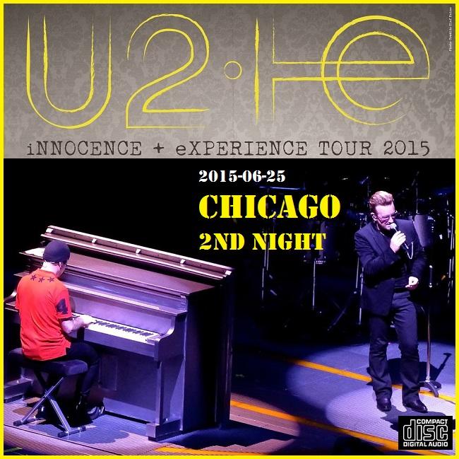 cd u2 live in chicago