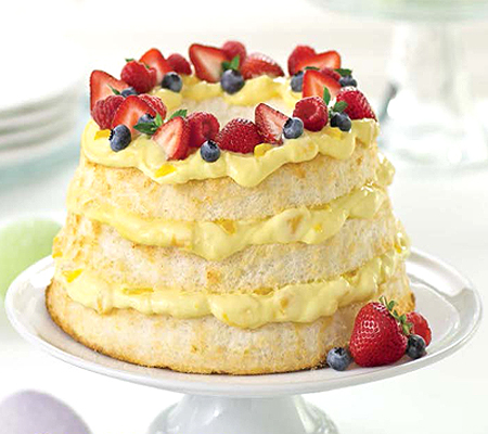 Angel Lush Cake Recipe Dole