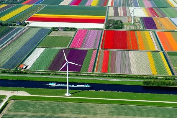 Viajando por el norte de Holanda